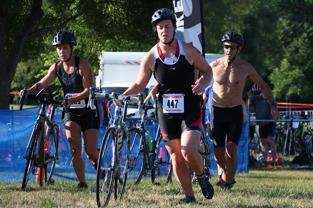 Iowa Games Triathlon Set For Sunday
